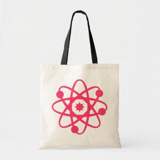 Pink Atomic Book Bag