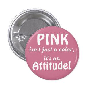 Pink Attitude button
