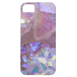 Pink Aura Crystals iPhone 5 Cases