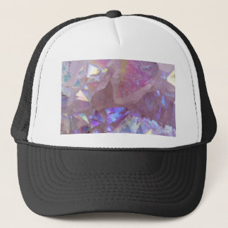 Pink Aura Crystals Trucker Hat