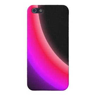 Pink Aurora Eclipse iPhone 4 Case