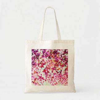 Pink Autumn Floral Bag