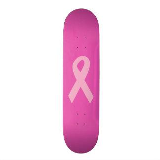 Pink Awareness Ribbon 21.6 Cm Skateboard Deck