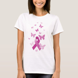 Pink Awareness Ribbon T-Shirt