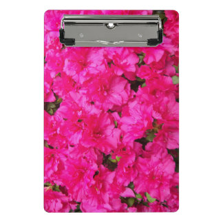 Pink Azalea Flowers Floral Mini Clipboard