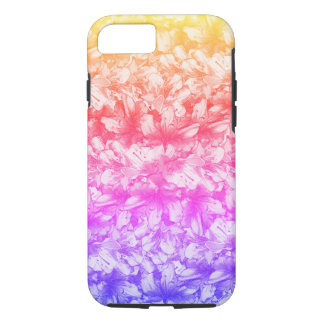 Pink Azalea Flowers Rainbow iPhone 8/7 Case