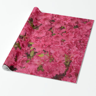 Pink Azalea Wrapping Paper