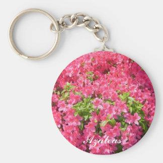 Pink Azaleas Key Ring
