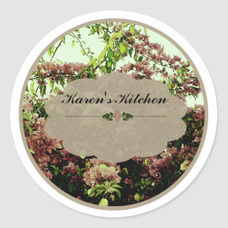 Pink Azaleas labels