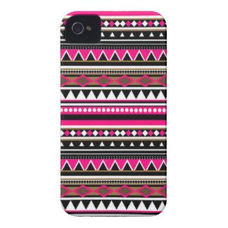 Pink Aztec iPhone 4 Cases