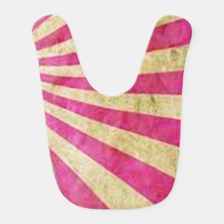 Pink_babero Abstract Bib