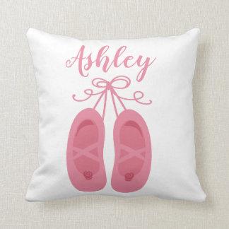 Pink Baby Girl Ballerina Ballet Toe Shoes Dancer Cushion