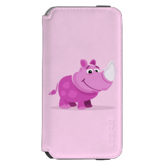 Pink Baby Rhino Incipio Watson™ iPhone 6 Wallet Case