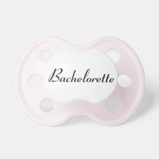 Pink Bachelorette Pacifier
