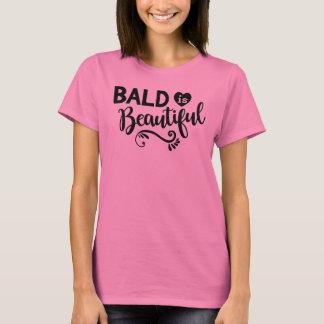 Pink Bald is Beautiful Women's T Shirt