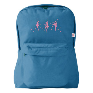 Pink Ballerinas Backpack