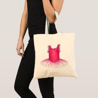 Pink Ballet Ballerina Tutu Dance Class Teacher Tote Bag