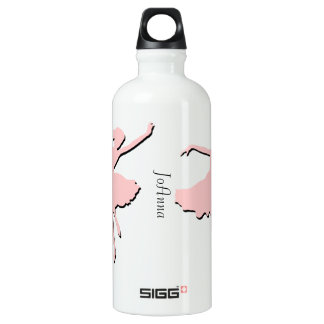 Pink Ballet Dancing Custom SIGG Traveller 0.6L Water Bottle