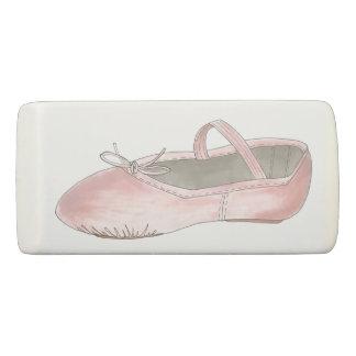 Pink Ballet Shoe Slipper Dance Teacher Ballerina Eraser