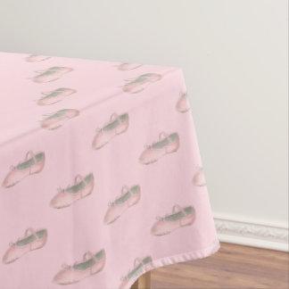 Pink Ballet Shoe Slipper Dance Teacher Ballerina Tablecloth