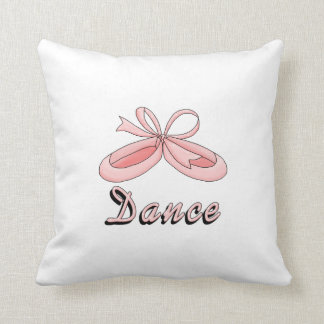 Pink Ballet Shoes- Dance Cushion