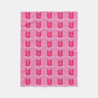 Pink Ballet Tutu Ballerina Dance Teacher Blanket