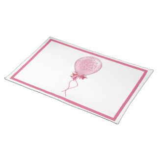 Pink Balloon 2 Placemat