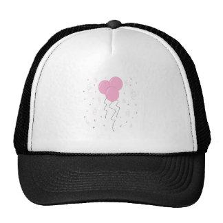Pink Balloons Mesh Hat