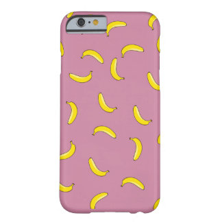 Pink Bananas Barely There iPhone 6 Case