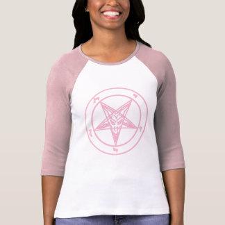 Pink Baphomet Raglan T-Shirt