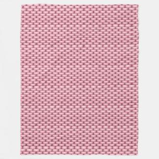 Pink Basket Blanket