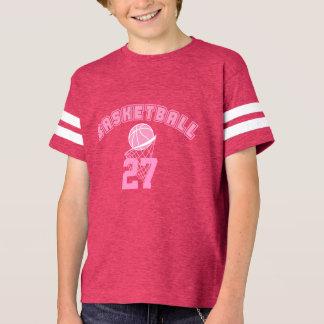 Pink Basketball | DIY Name and Number T-Shirt