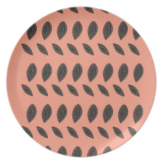 PINK Beans design elements Plate
