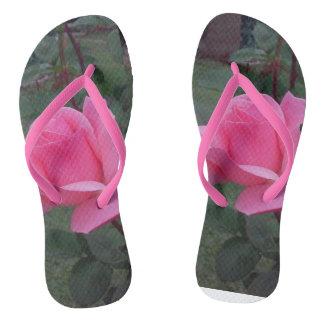 Pink Beauties Flip Flops Thongs