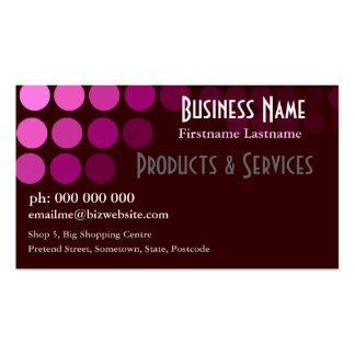 Pink Beauty Spots Business Card