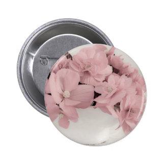 Pink Begonias Button