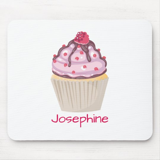 Pink Berry Cupcakes Mouse Pad