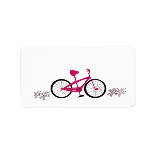 Pink Bicycle Label