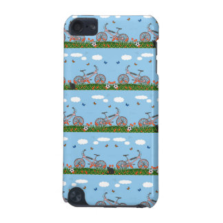 Pink bicycles pattern iPod touch 5G cover