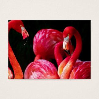 Pink Bird Birds flamingo Business Card