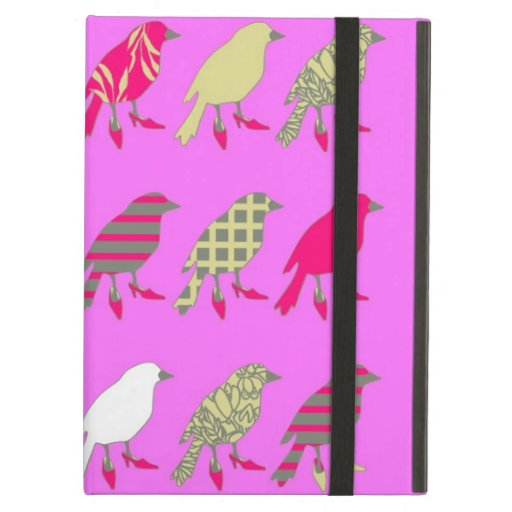 Pink Birds iPad Air Covers