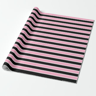 Pink, Black and White Stripes