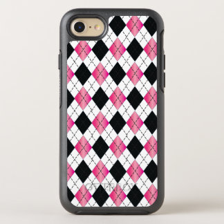 Pink & Black Argyle iPhone 6/6s Otterbox OtterBox Symmetry iPhone 7 Case