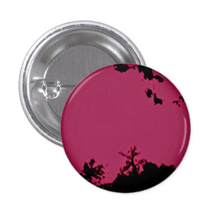 Pink black button pin