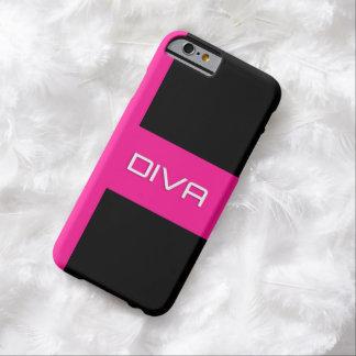 Pink Black Diva iPhone6 Case
