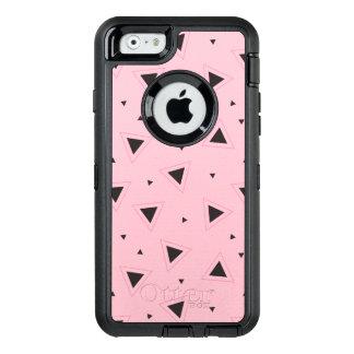 Pink black geometric pattern Otterbox iphone case