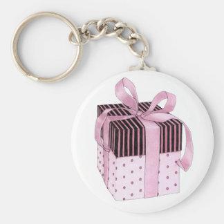 Pink Black Gift Keychain