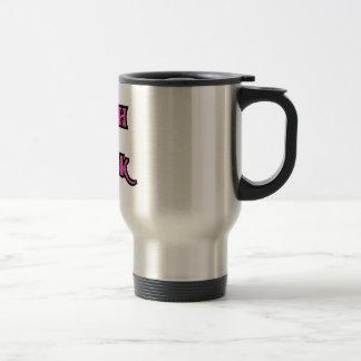 Pink Black Goth Geek Mug