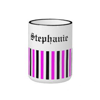 pink/black name your mug