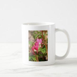 Pink Bleeding Hearts Coffee Mug